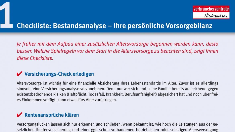 Downloads Finanzen | Verbraucherzentrale Niedersachsen