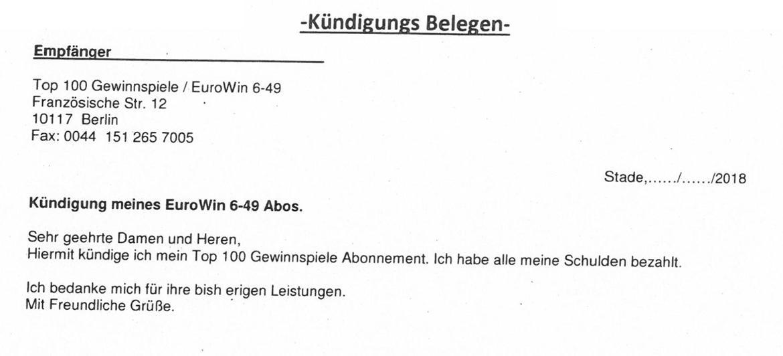 Schreiben Von Gewinnspielfirmen Verbraucherzentrale Niedersachsen